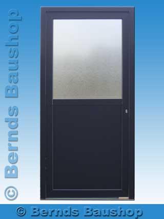 Komplett Neu Haustür Eingangstür Kellertüren Nebeneingangstür Kunststoff  Neu QI28