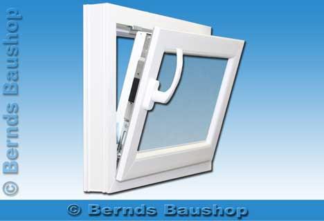 Fenster 70 x 40 cm wei dreh kipp neu kellerfenster for Kunststoff kellerfenster