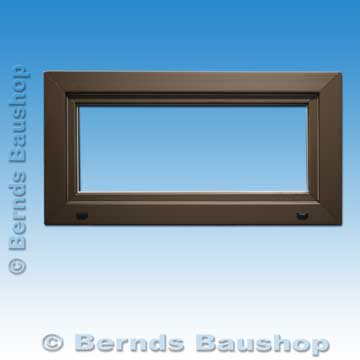 fenster 100 x 40cm braun dreh kipp neu kellerfenster kunststoff mehrzweckfenster ebay. Black Bedroom Furniture Sets. Home Design Ideas